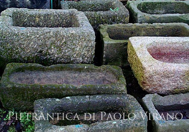 catalogo_lavandini - Bagno Lavabo In Pietra Trogolo